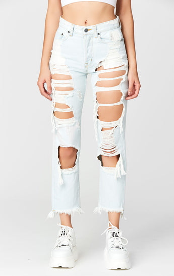 COSMO SUPER SHRED RELAX FIT JEAN