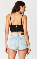 Carmar Denim: CHAIN BRA TOP - TOPS