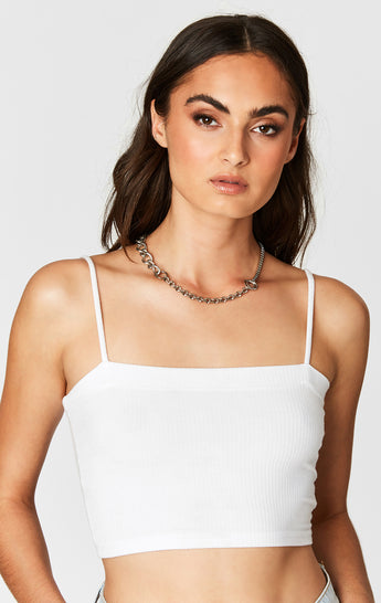 Carmar Denim: CHAIN NECKLACE WITH BAR AND FLAT - NECKLACE