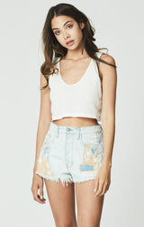 MOJAVE FLORAL PATCHWORK TITANIA SHORT