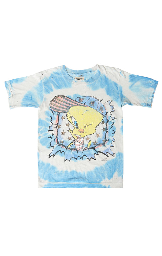 Carmar Denim: CARTOON STONEWASHED TEE - VINTAGE TEE