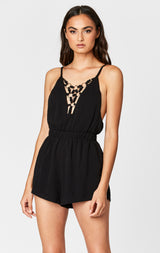 MILLAU O-RING CAGE FRONT ROMPER