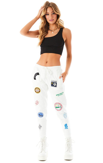 VINTAGE PATCH SWEATPANTS