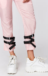 WINDBREAKER DOUBLE STRAP PANT