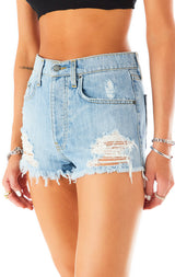 TITANIA LUNA DENIM SHORTS 9