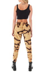 BLEACH TIE DYE SWEATPANTS