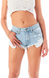 MOGAN KYALITE DENIM SHORT