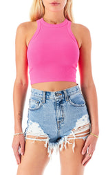 ALICE LARIMAR DENIM SHORT
