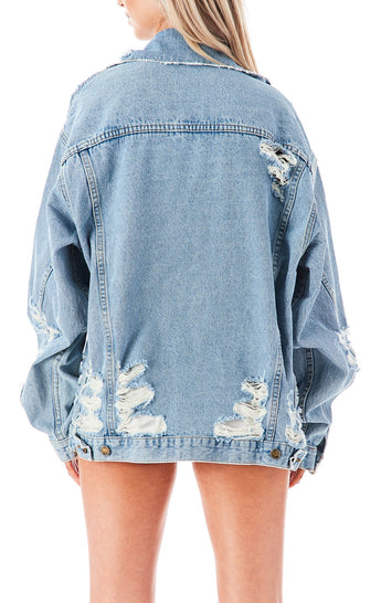 AUDREY TOURMALINE DENIM JACKET