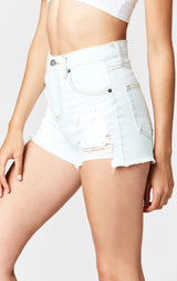 Carmar Denim: VIENNA ALICE HIGH RISE SHORTS - SHORTS