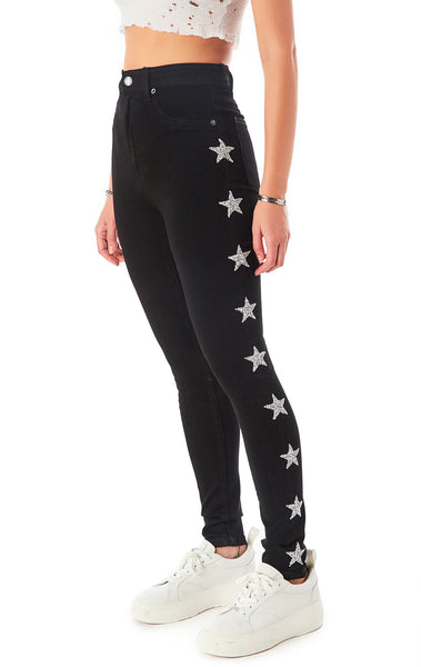 THESEUS STAR PATCH JEAN