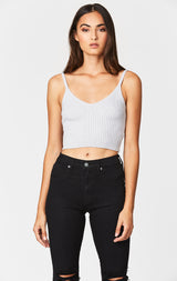 Carmar Denim: V NECK SWEATER TANK - SWEATER