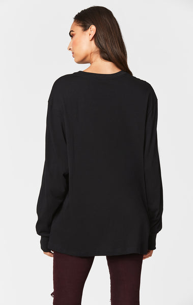 OVERSIZED LONG SLEEVE TEE