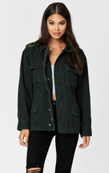 Carmar Denim: CARGO UTILITY JACKET - JACKETS