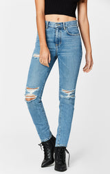 Carmar Denim: LYNX ALEXANDER KNEE SLASH JEAN - JEANS