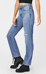 Carmar Denim: AQUILA URSULA HIGH RISE SLIM FIT JEAN - JEANS