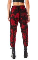 BLOTCH TIE DYE SWEATPANTS