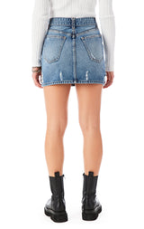 COLIN ADIGE DENIM SKIRT