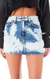 COLIN KAINITE DENIM SKIRT