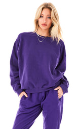 IRIS CREW NECK SWEATSHIRT