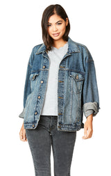 ARABELLA OVERSIZE DENIM JACKET