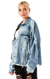 AUDREY ROSALINE DENIM JACKET