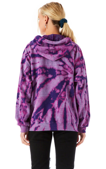 BLEACH FIREWORK ZIP UP SWEATSHIRT