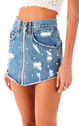 BEATRICE LYLA DENIM SKIRT