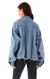 AUDREY MYSTIC DENIM JACKET