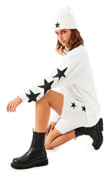 STAR PATCH BIKE SHORTS