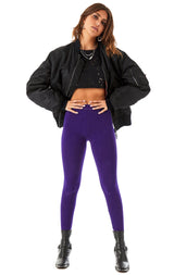 BRIGHT PURPLE LEGGING