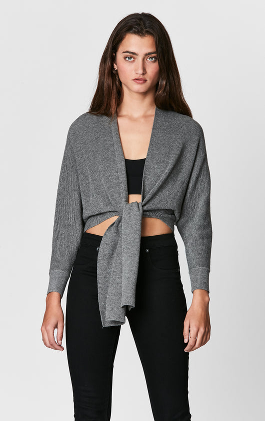 SEEK TIE FRONT SWEATER