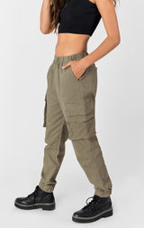 Carmar Denim: CARGO POCKET PANT WITH ZIPPER - PANT