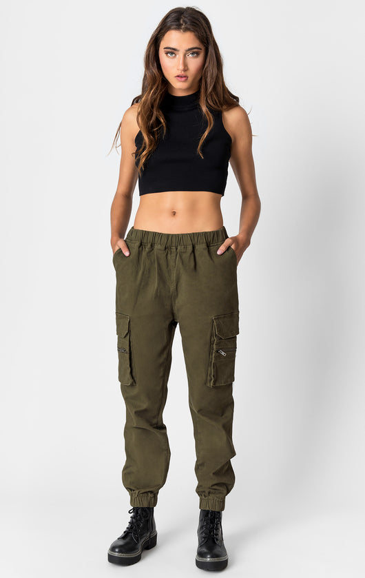 Carmar Denim: CARGO POCKET PANT WITH ZIPPER - IMPORT PANT