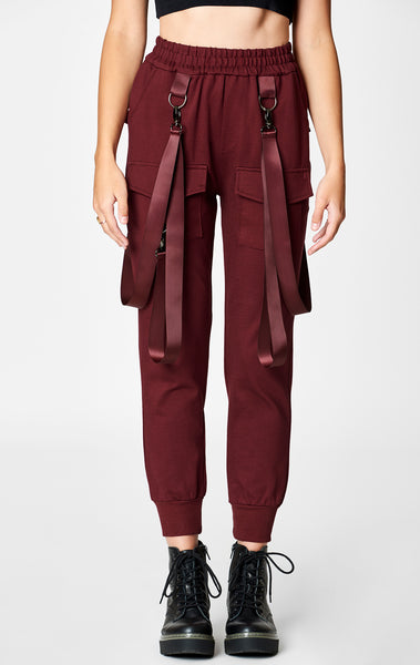 BERRY HARNESS STRAP CARGO POCKET PANT