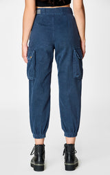 Carmar Denim: BAGGY GRINDED CARGO PANT - PANT