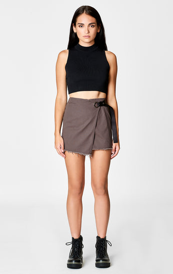 Carmar Denim: WRAP SKIRT - SKIRTS