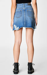 Carmar Denim: VELA TYBALT BUTTON FRONT SKIRT - SKIRTS