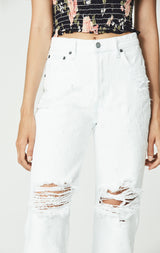 WARREN PORTIA DISTRESSED JEAN
