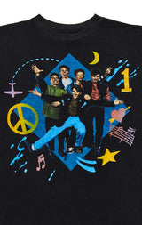 Carmar Denim: 90S DOUBLE GRAPHIC NEW KIDS ON THE BLOCK TEE - VINTAGE TEE
