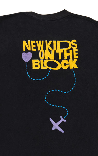 90S DOUBLE GRAPHIC NEW KIDS ON THE BLOCK TEE
