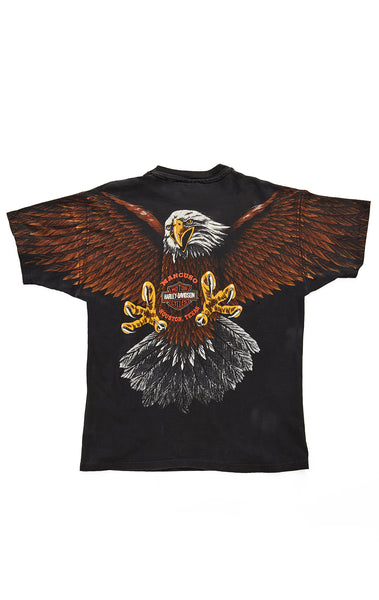 90s EAGLE DOUBLE GRAPHIC HARLEY TEE