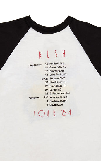 80S GRACIE UNDER PRESSURE TOUR RUSH DOUBLE GRAPHIC TEE