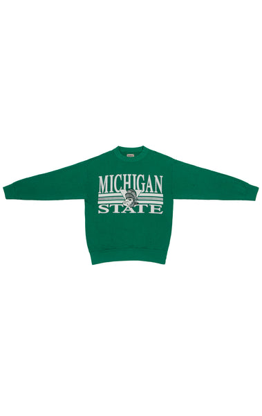 STONEWASHED COLLEGE SWEATSHIRT