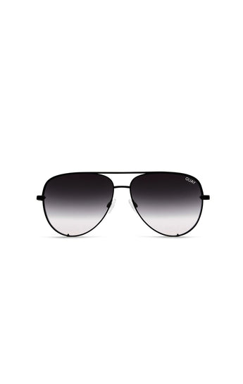 QUAY HIGH KEY OVERSIZED AVIATOR SUNGLASSES