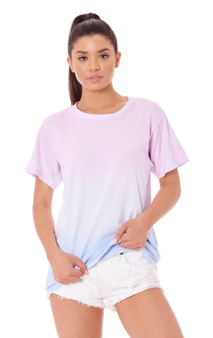 SPRAY DIP DYE OVERSIZED TEE