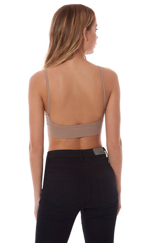 BRALETTE WITH LOW BACK