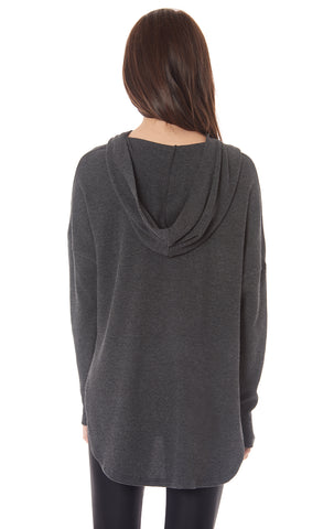 HOODED SCOOP HEM THERMAL