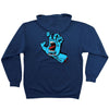Santa Cruz Screaming Hand Pullover Hooded L/S Mens Sweatshirt - Navy Heather