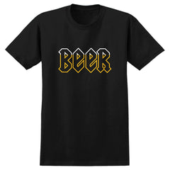 Real Beer Deeds S/S Men's T-Shirt - Black